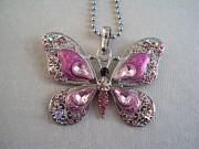 Ожерелье с бабочкой Липецк