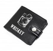 Портмоне с обработанными краями Whiskey, черный Глазов