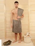 Килт махровый мужской для бани-сауны Москва