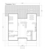 Одноэтажный фахверковый дом 148 m2 Москва