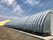 Строительство арочных быстровозводимых разборных ангаров Владивосток