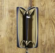 Клатч на молнии комбинированный «Доберман» Глазов