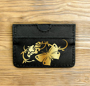 Картхолдер «Золотая бабочка» Глазов