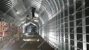 Бескаркасные ангары под производственное помещение Челябинск