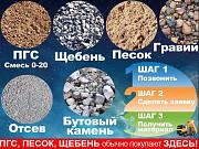 Нерудные строительные материалы от Благоустройство Воронеж с доставкой Воронеж