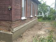 Замена венцов, ремонт фундамента, подъем и перенос домов Санкт-Петербург