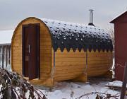 Готовые бани-бочки, перевозные бани, садовые и дачные домики. Москва