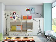 Детская двухъярусная кровать «Лео Принт» Москва