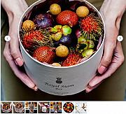 Экзотические фрукты в элегантной коробке – необычный подарок с поводом и без Москва