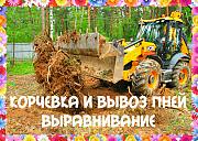 Измельчитель пней Воронеж и корчевание пня в Воронежской области Семилуки