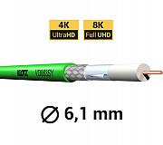 Кабель для цифровых видеосигналов SDI/HDTV, группа 0.8/3.7AF, диам. 6, 1 мм - V08/37 KLOTZ Киевский