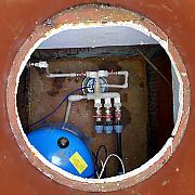 Водоснабжение дома от скважины, септик, фильтры водоочистки Ступино
