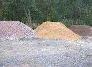 Песок строительный, асфальтная крошка, опилки Омск