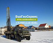 Бурение артезианских скважин на воду для частных домов Московской области Москва