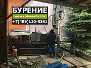 Бурение скважин малогабаритной установкой на воду под ключ Москва