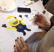 Мастер-класс по росписи футболок в Центре «Союз» Тула