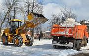 Уборка снега с крыш Воронеж и вывоз снега в Воронеже Семилуки
