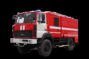 Автоцистерна пожарная АЦ 4, 0 (5, 0) МАЗ-5434Х3 Москва