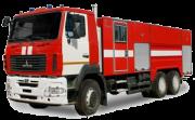 Автоцистерна пожарная АЦ-8, 0, МАЗ-6312В9 Москва