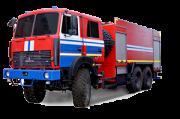 Автоцистерна пожарная АЦ-11, 0 МАЗ-6317Х9 Москва