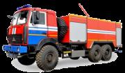Автомобиль порошкового тушения АП 5000 МАЗ Москва