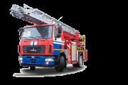Автолестница пожарная АЛ-30 МАЗ-5340В2 Москва