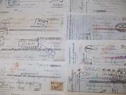 РАСПРОДАЖА 10 старых векселей все за 1200р вместе с отправкой продаю Самара
