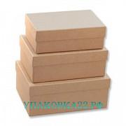 Набор крафт коробок (3 шт.) в ассортименте. Барнаул