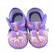 Детские ботинки с бантом Липецк