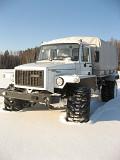Двухрядная кабина ГАЗ 33088 Снегоболотоход с шинами низкого давления Магадан