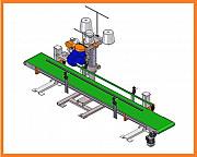 Полуавтомат для упаковки древесного угля в бумажные мешки крафт Москва