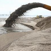 Добыча песка земснарядом Санкт-Петербург