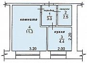 Продам 1-комнатную квартиру 22 м², этаж 2/5 Стрежевой