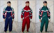 Винтажные костюмы 90-х Saller, 3 цвета, новые, с хранения Москва