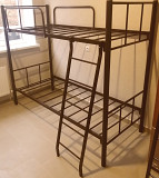 Кровати на металлокаркасе, двухъярусные, односпальные для хостелов, гостиниц, рабочих Краснодар