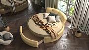 Круглая двуспальная кровать «Жемчужина» Москва