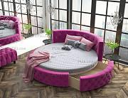 Круглая кровать «Аркада» с ящиком Москва