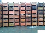 Тара, контейнеры, ящики, металлическая, складская, б/у Челябинск