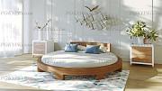Круглая двуспальная кровать «Абсолют» Москва