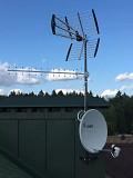 Установка, ремонт, настройка антенн Москва