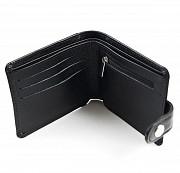 Подарочный набор От нее для тебя: портмоне комбинированное + коробка из дерева Глазов