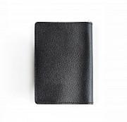 """Обложка на паспорт """"1 мая"""", черный Глазов"""