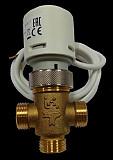RCVA 3/4 2.5 Shuft 230 Kvs 2.5 PN 16 230В ip44 клапан трех-ходовой с приводом Москва