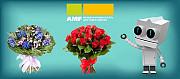 AMF - это одна из лидирующих компаний по доставке цветов по всему миру! Москва