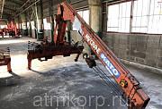 Кран манипулятор Kato KS30H-2 My Crane КМУ грузопод 3 тн стрела 3 вылетадлиной 8 мпростые опоры Москва