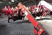 Кран манипулятор Nansei Crane PC-294 XB КМУ грузопод 3 тн стрела 4 вылетадлиной 10 мпростые опоры Москва