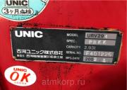 Кран манипулятор Unic Crane URV294 гв 2002 КМУ грузопод до 3 тн стрела 4 вылетадлина 10 мпростые а Москва
