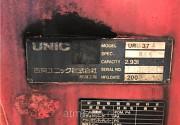 Кран манипулятор Unic Crane URU374 гв 2005 КМУ груз 3 тн стрела 4 вылетадлиной 10 м простые аутриге Москва