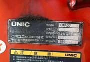 Кран манипулятор Unic Crane URA374 гв 1996 КМУ груз 3 тн стрела 4 вылетадлиной 10 мпростые опоры Москва