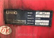 Кран манипулятор Unic Crane URU344 год вып 2003 КМУ грузопод 3 тн стрела 4 вылетадлиной 10 мпросты Москва